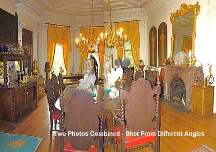 dining room astoria grover cleveland
