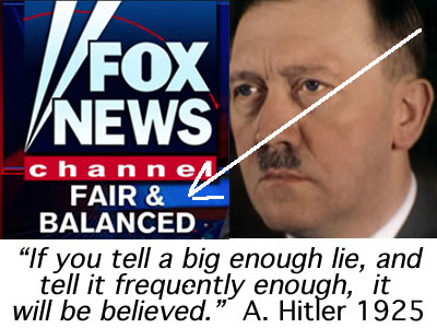 murdoch & hitler goebbels propagandists in 20th century