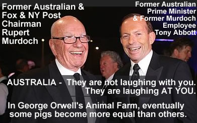 rupert murdoch gets big propaganda payout by prime minister tony abbot australia
