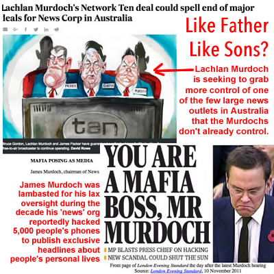 james murdoch photo lachlan murdoch picture