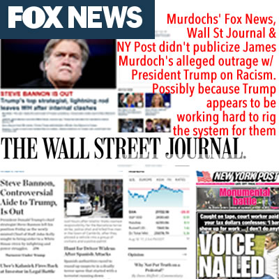 fox news fake news murdoch fox news is fake news fox news racism fox news racists murdochs