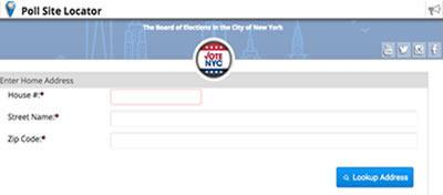 nyc poll site locator queens poll site locator manhattan polls locations bronx poll sites brooklyn polling locations staten island polls sites locations locator nyc