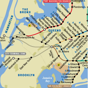 lirr in manhattan map queens