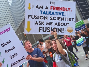 photos of marchers peoples climate march nyc
