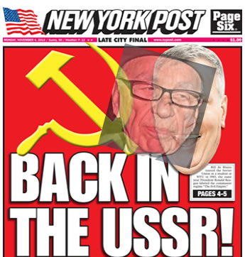 rupert murdoch back in the ussr photo