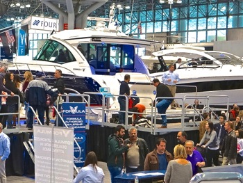 ny boat show javits center photos