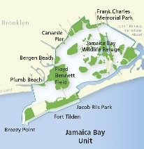 national parks service map jamaica bay queens nyc