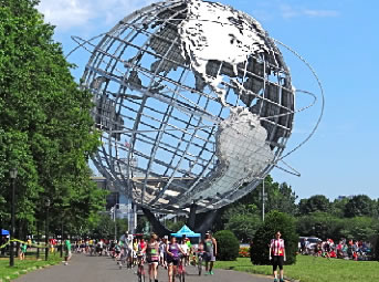 unisphere flushing meadows corona park nyc worlds fair 1964