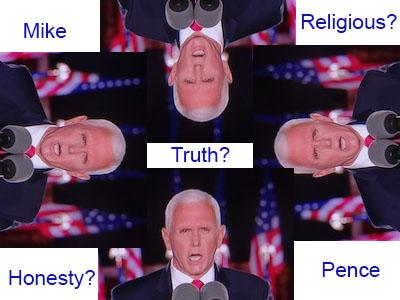 republican convention mike pence lies his way through rnc convention