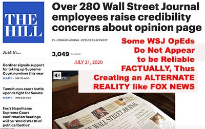 rupert murdochs wall st journal fake news the wall st journal propaganda machine murdoch wsj distorts the news