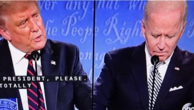 trump biden debate first biden trump debate sept 2020