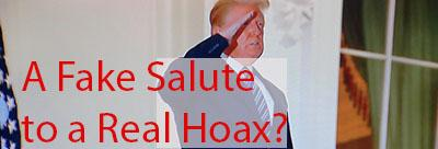 trump hospital visit was a hoax trump fakes hospital visit to turn around campaign in polls
