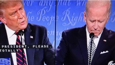 Donald Quacks in the First Presidential Debate 2020 vs Joe Biden | donald trump cracks in first presidential debate with joe biden trump biden presidential debate september 30 2020