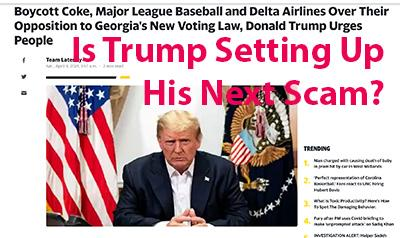 Dishonest Donald and Miser Murdoch Inciting Another Insurrection of a Different Sort - the Boycotting of Major League Baseball for Exercising the Powe | Dishonest Donald and Miser Murdoch Inciting Another Insurrection of a Different Sort - the Boycotting of Major League Baseball for Exercising the Power of Free Speech