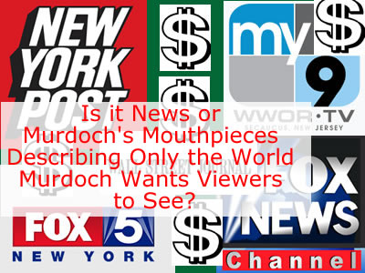 Rupert Murdoch & the Rise of the Propaganda Press: Fox News Propaganda Machine NY Post Fake News