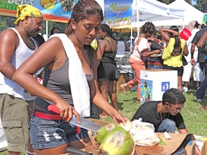 NYC Food Festivals - Jamaican Jerk Festival in Queens NYC