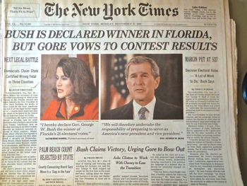 jeb bush george bush florida votes 2000