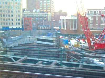 east river tunnel project