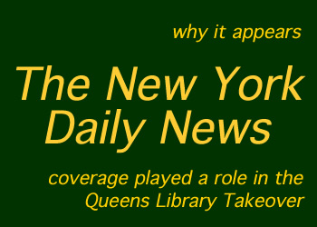 daily news coverage queens library