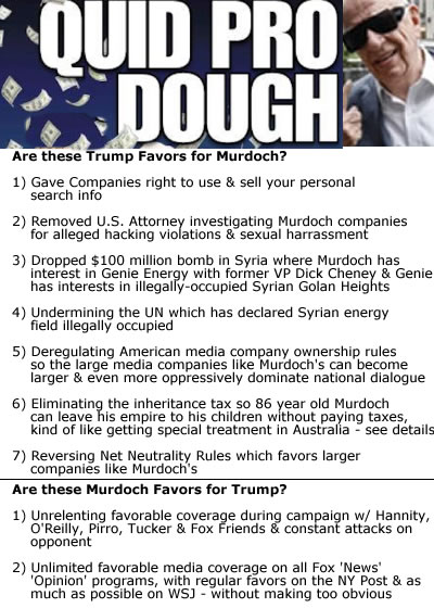 murdoch corruption trump corruption media corruption propaganda payout corruption trump murdoch usa