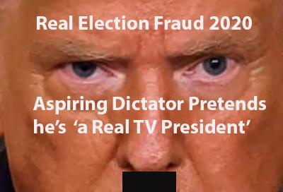 trump election fraud using us government? trump fraud