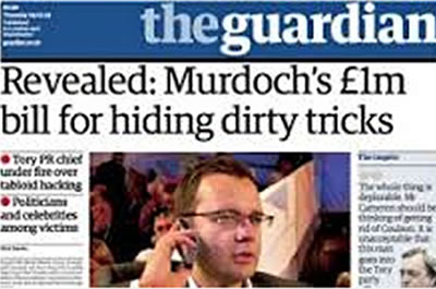 rupert murdoch phone hacking scandal