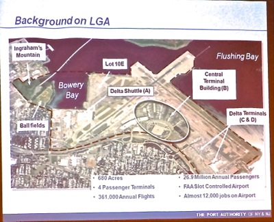 laguardia airport hours under consideration airplane noise