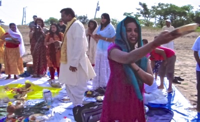 ganga puja jamaica bay queens nyc