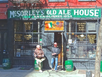 irish pubs manhattan ues uws midtown east village irish pubs bars restaurants